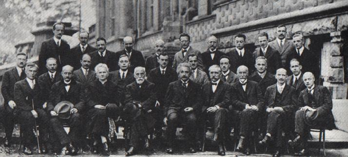 The Solvay Conference